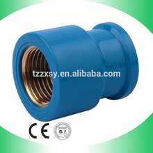 pressure pipe fittings female socket connect pipe copper insert