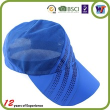 2014 unique red dry fit sports mesh running hats