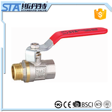 "ART.1023 Brass Gas Ball Valve 1-1/2"" Full Port 600 WOG Water Oil Gas Importer In Dehli With CW602N CW617N Material Made In China"