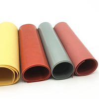 0.2mm Colorful Silicone Mat High Temperature Customized Size Silicone Rubber Sheet