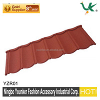 Colorful Sand Coated Metal Roofing Tiles and Accessories for Houses