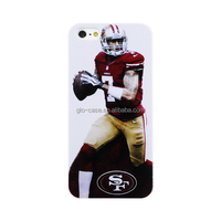 2014 New products, Customized NFL phone case for apple iphone 5s