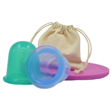 2015 Hot Sale Silicone massage cup cupping/hijama kit