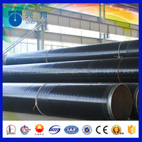 3 layer anti-corrosion pe coating seamless steel pipe used on oil gas field