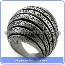 2015 newest casting design Stainless Steel Jewelry Ring (R9096)