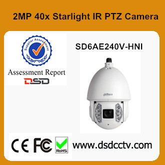 High Speed Dome 1080P Dahua SD6AE240V-HNI PTZ Camera