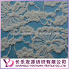 2013 White Thick Cotton Nylon Lace Fabric for Garments
