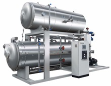 China famous full water retort steam sterilizer autoclave price for food sterilization