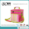 stripe pink insulated fitness cooler lunch bags for kinds china supplier