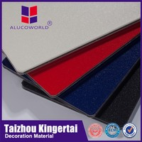 Alucoworld ISO certificated scrap ship for sale aluminum composite panel with protective film