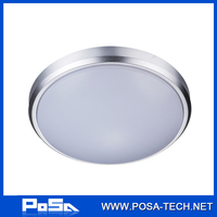 22W color temperature and brightness adjusted ceiling light with remote controller (PS-CL24L-22W)