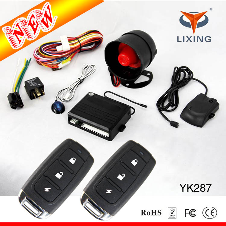 OEM upgrading remote engine anti-hijacking car alarm, one way car alarm system