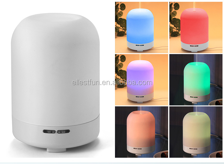 IONCARE mini air humidifier/portable air freshener/7 color changing LED light aroma diffuserGH2119A
