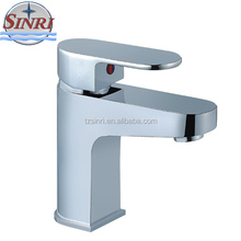 High Quality Single Zinc Handle Chrome Finished Wash Basin Tap Faucet For Hotel