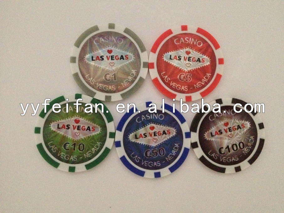 Las vegas 11.5g 40*3.3mm poker chip, gaming poker chips