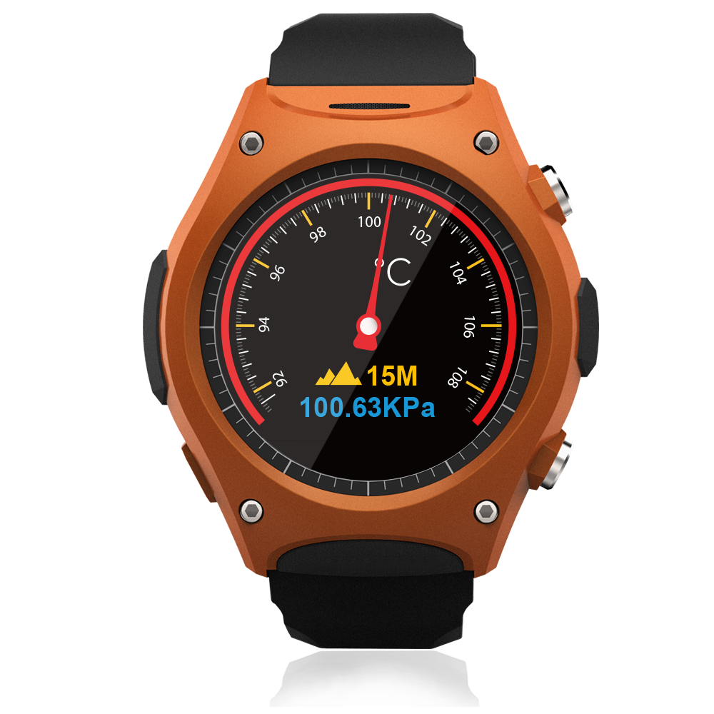 2016 Hot Sale Outdoors Sports GPS Nucleus Smart Watch Q8 with IOS/Android phone