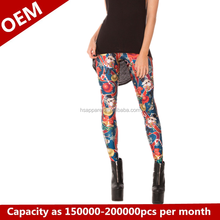 The new women's leggings Sunflower leggings Fashion shin guards and feet pants on sale