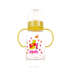 Safety Baby Products Breast Shaped Glass Feeding Bottle Manufacturers
