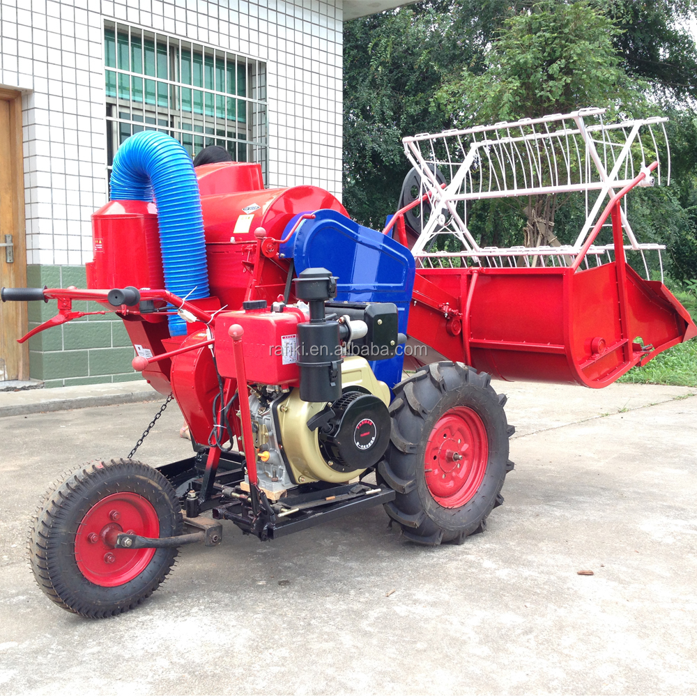 Hot sale rice wheat mini combine harvester with factory price