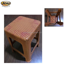 Customize rattan stool injection mold process