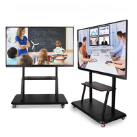 Office portable stand with magnetic digital pen IR digital vision touch screen all in one smart board interactive whiteboard