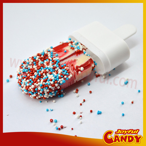 Ice Cream Lollipop with sprinkles