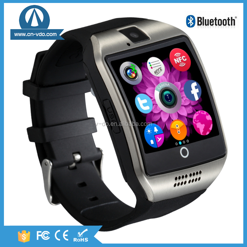 Touch Screen Smart Watch Phone Hot Wholesale Smart Watch With Whatsapp and Facebook