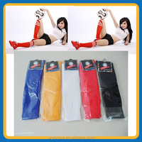 China Supplier Polyester/ Nylon / Cotton Soccer Socks/Knee High Sport Socks