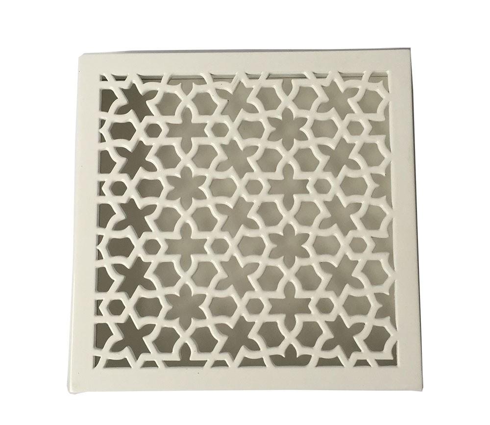 Heißer verkauf quadratische weiße holz dekorative weihnachtsgeschenk ...