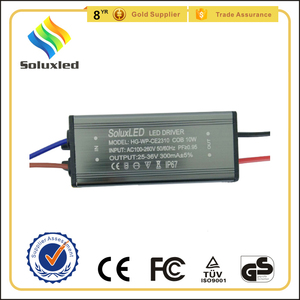 10W COB led driver for flood light CE approved
