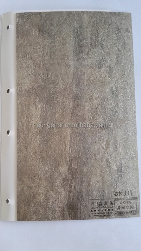 Brushed Surface Finishing and Decorative High-Pressure Laminates / HPL Type fire resistant decorative wall panel