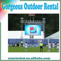 Die-casting full color P6 outdoor led display for extrinsic events