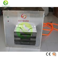 Double passive pressure ventilation hot heating air blast heater used for poultry/livestock farm