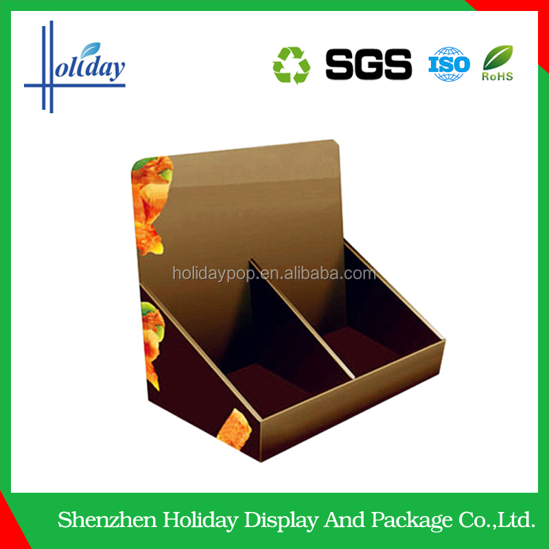 Economy supermarket chocolate counter display stand