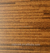 Natural cork tiles flooring for floor installation