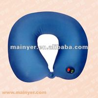 Could with customized logo printing massage pillow