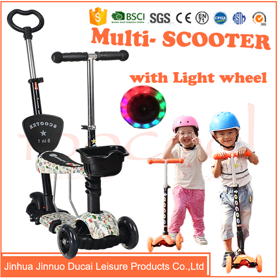 TK03 3 Wheel colorful Kick Child Scooter