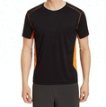 Mens polyester Dry Fit sports T shirts Top Tees