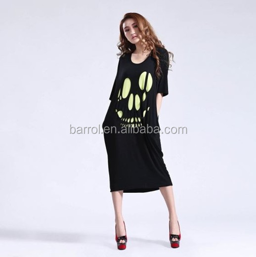 Top selling ladies short sleeve baggy sport dress