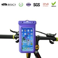 Bike Bicycle Waterproof Bag Pouch Phone Case Cover 2015 Handlebar Mount Holder Cradle