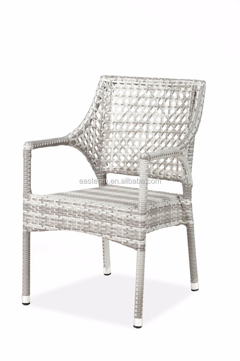 Low Price Home Good Aluminum Plastic Rattan French Patio Leisure Way Outdoor Chinese Dining Chair