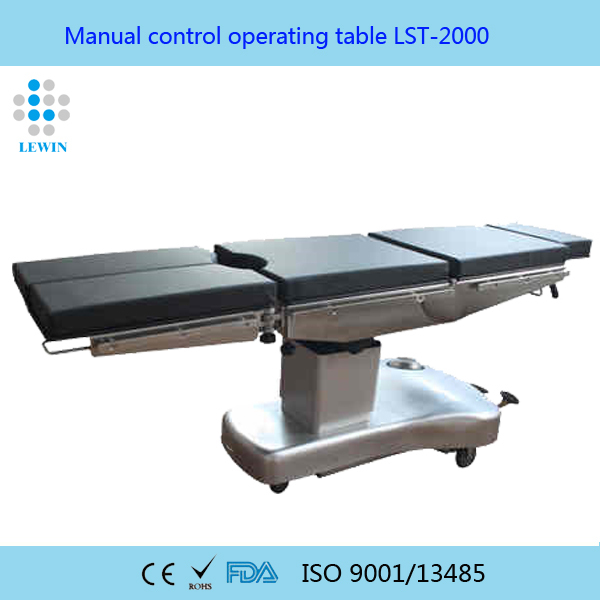 Medical equipment Manual operating bed LST-2000A