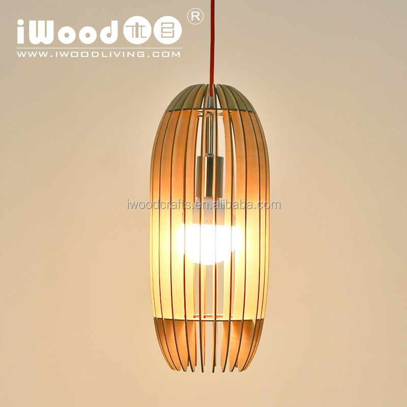 Natural style wood chandelier & pendant ceiling lights