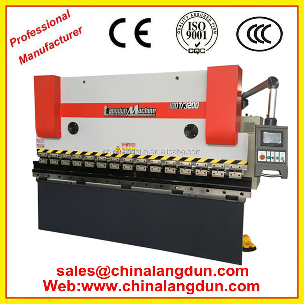 wc67k cnc hydraulic press brake, pan and box bending machine