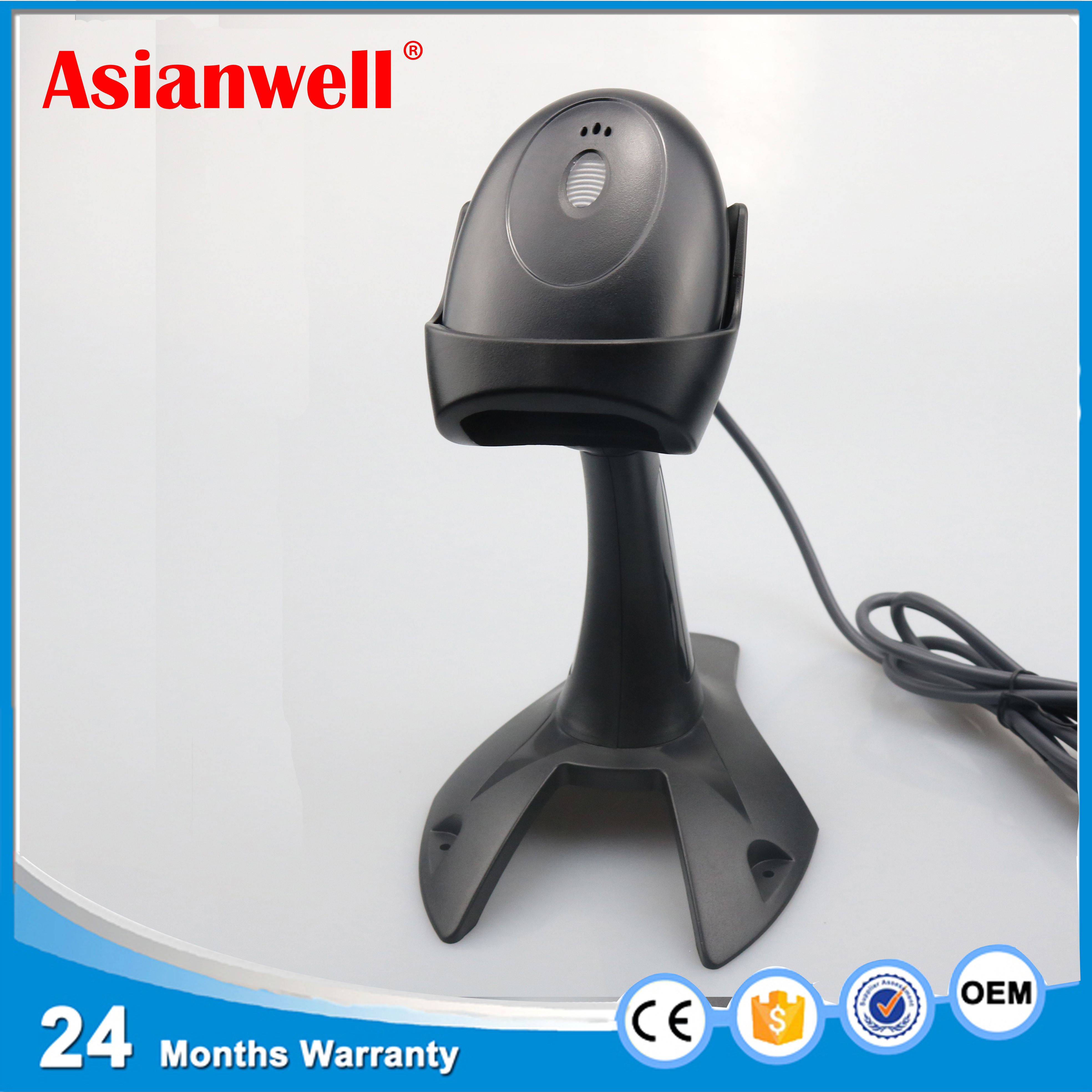 China handheld cheap price module 1d bar code reader factory shop usb wire laser automotive supermarket oem barcode scanner