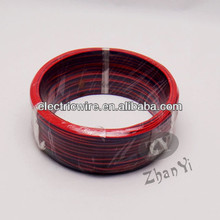 red and white,blue and white,red and black speaker wire