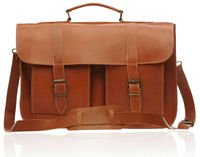 Leather Briefcase College