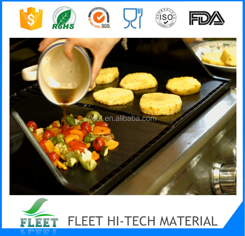 nonstick surface teflon cooking sheet for fish
