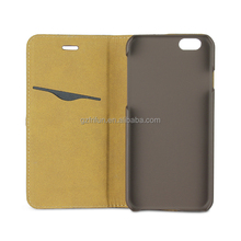 5 inch mobile phone case for iphone PU leather cell case