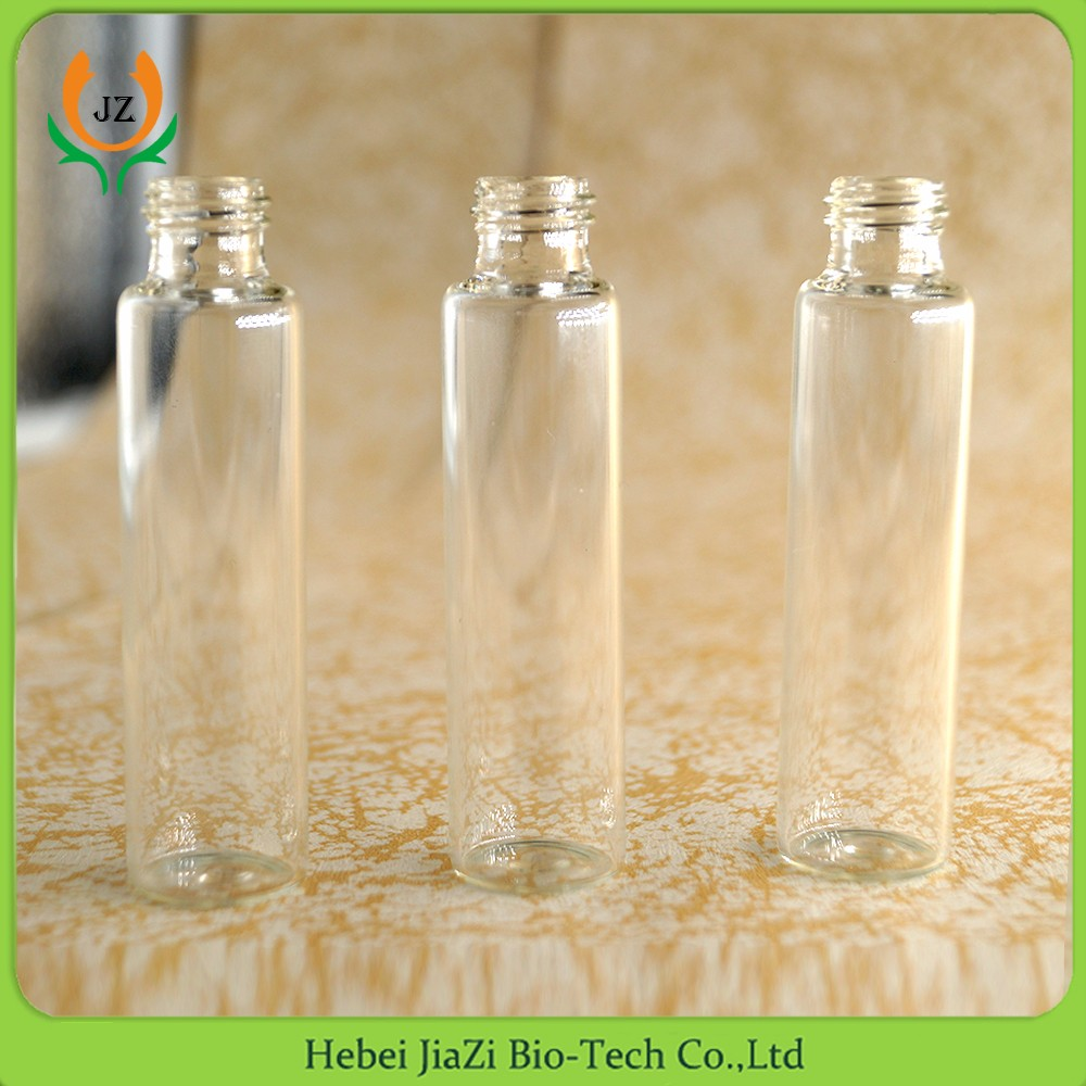 10ml clear glass vial pendant bottles With Screw Cas